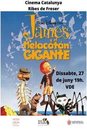 James y el melocoton gigante cine ribes