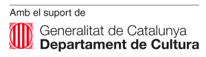 Departament de cultaura de la generalitat de catalunya