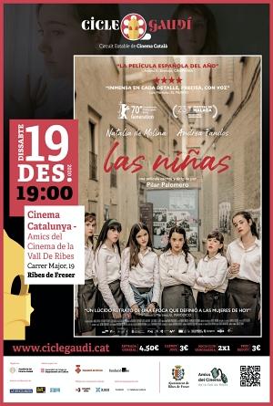 Cicle Gaudí Las Niñas Cinema Catalunya Ribes
